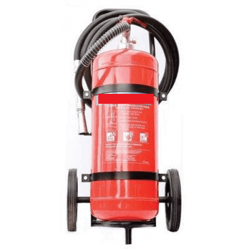 Extinguisher 25kg DCP (Trolley Unit)