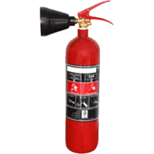 Extinguisher 2kg CO2 (Steel Alloy)