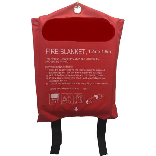 Fire Blanket – 1.2m X 1.8m (BAG)