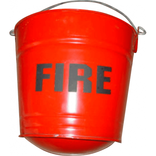 Fire Bucket – Round Bottom