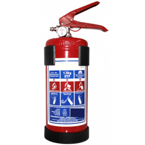 Extinguisher 1.5kg DCP (Incl Bracket)