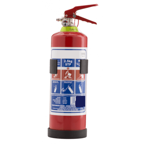 Extinguisher 2.5kg DCP (Incl Bracket)