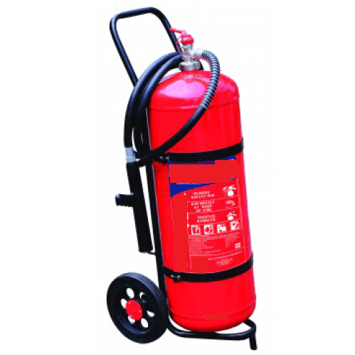 Extinguisher 50kg DCP (Trolley Unit)