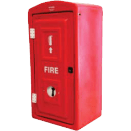 Fire Box Plastic 9kg Hinged Door